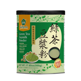 SG Green Tea Soymilk Powder 500g