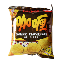 Calbee Crisps Curry Flavour 55g