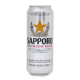 Sapporo Premium lager bier  500ml