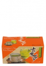 Genmaicha Japanese Green Tea with roasted brown rice 20x2 g