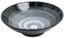 Japanese Swirl Bowl Ø24 cm