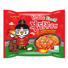 Samyang Buldak Hot Chicken Kimchi Ramen 135g