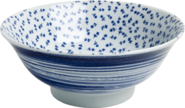 Japanese bowl of flowers pattern Ø22 cm | H9 cm