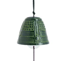Iwachu Furin Feng Shui Bell Green 4,5 cm