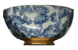Japanese bowl butterflies Ø11,5 cm | H5,5 cm