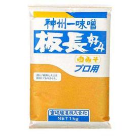 Itacho Shiro Miso (White Soy Bean Paste) 1kg