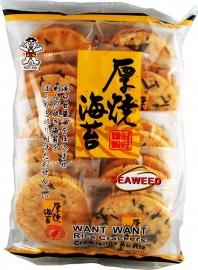 Want Want Seaweed Rice Cracker 160
