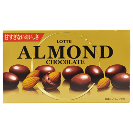 Lotte Almond Chocolates, 86 g