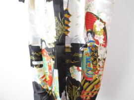 Japanse Kimono Lang Zwart