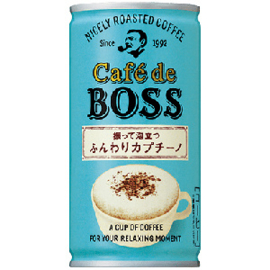 Cafe de Boss Fluffy Capuchino 185g