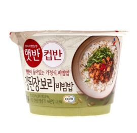 Cup Bahn Soybean Paste Bibimbap with rice