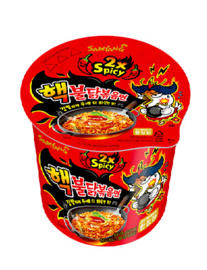 Korean Nuclear Fire Noodle Hot chicken Cup noodles 70g