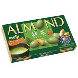 Meiji Almond Chocolate Matcha 79g