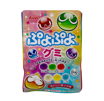 Puyo Puyo Gummy Fruits