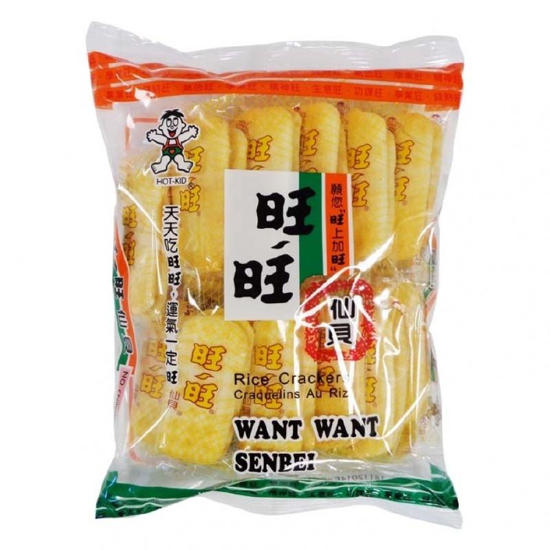 Want Want senbei Rice Crackers 112gram