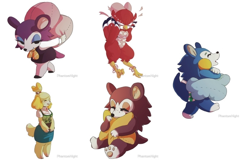 Sticker Set Animal Crossing