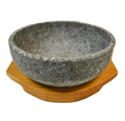 Korean Stone Bowl (Dolsot) Sizzling Hot Pot For Bibimbap 16cm