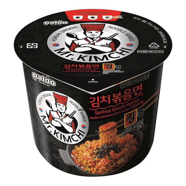 Mr. Kimchi Ramen Stirfried Cup 116g