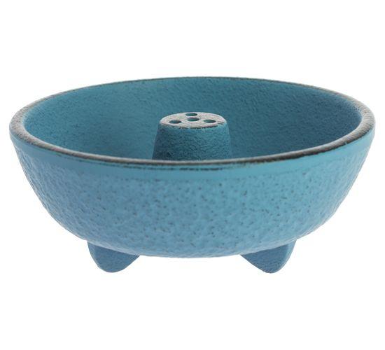 Incense Burner Iwachu Fontain Fuente Azul Claro  Ø8.3xH3.1 cm