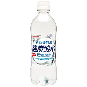 Sangaria Iga No Tennen-Sui Strong Sparkling Water 500ml