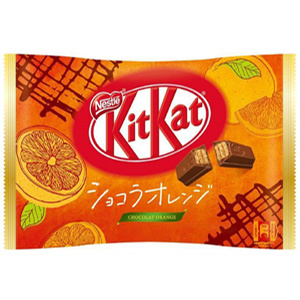 KitKat Mini Chocolate Orange 12 pcs