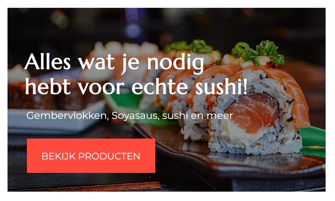 Seikatsu - sushi-gembervlokken-soyasaus-sushi