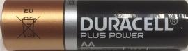 AA Baterij Duracell
