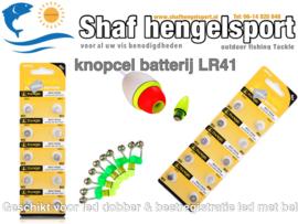 Knoopcel batterij / dobber & beetregistratie met bel