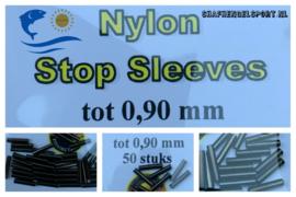 Nylon stop sleeves 0.90 mm (50pack)