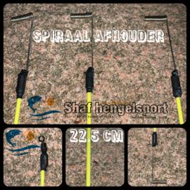 Spiraal-bezem afhouder 22,5 cm