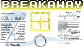 Breakaway - Coil Crimps + beads 01 (1 x 1set)
