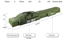 Foudraal 152 cm Josby