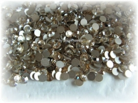 Swarovski 2028 platte steen Crystal Champagne 4,6mm per 12 stuks