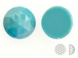 Swarovski 2072 platte steen Turquoise 12mm