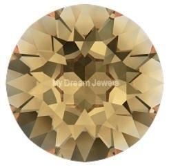 Swarovski 1088 Xirius puntsteen Crystal Golden Shadow 6,1mm