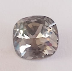 Swarovski 4470 Square Black Diamond 10x10mm