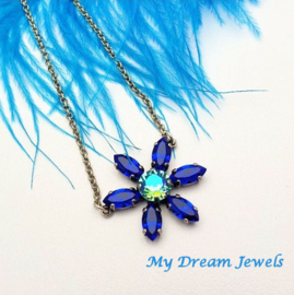 Ketting Swarovski Magic Blue Turquoise