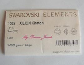 swarovski 1028 Siam 1,6mm Volle verpakking