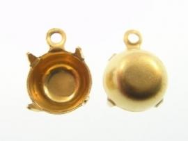Hanger Brass voor Swarovski puntsteen SS47