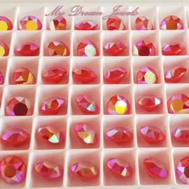 Swarovski 1088 Xirius puntsteen Crystal Light Coral Glow 8,2mm ( SS39 )