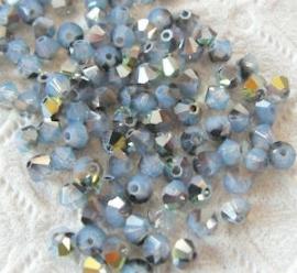 Swarovski 5301 White Opal Star Shine 3mm