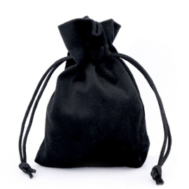 Sieraad cadeau zakje Velvet Black