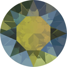 Swarovski 1088 puntsteen Crystal Iridescent Green   6,1mm ( SS29 )2st