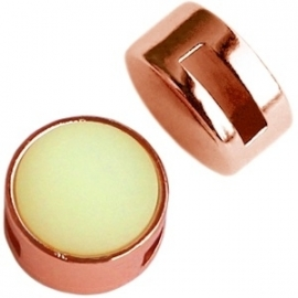 DQ Cabochon Slider Rose Gold voor 12mm