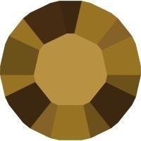 Swarovski 1028 Xilion puntsteen Crystal Dorado  2,0mm (unfoiled) per 12 stuks