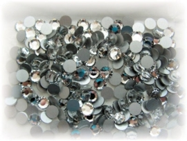 Swarovski 2012 platte steen Shadow Crystal 6,2mm