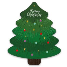 """SieradenWens kaart Kerstboom """"Merry Christmas"""""""