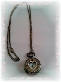 Ketting Pocket Watch Little Heart