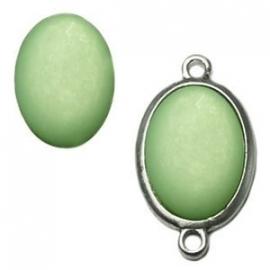 Polaris Cabochon Ovaal Crysolite Green 18x13mm