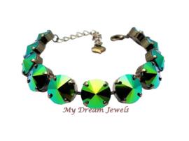 Armband Swarovki Scarabeaus Green